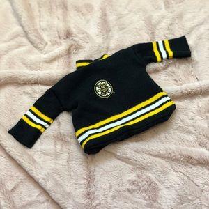 Bruins Black Dog Hat